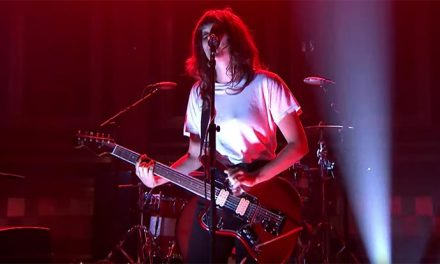 Courtney Barnett slays Fallon with 'Nameless, Faceless'