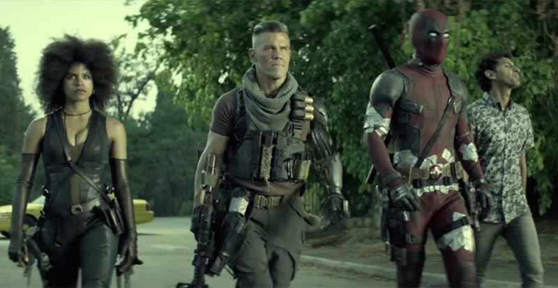 Latest Deadpool 2 vid is Golden