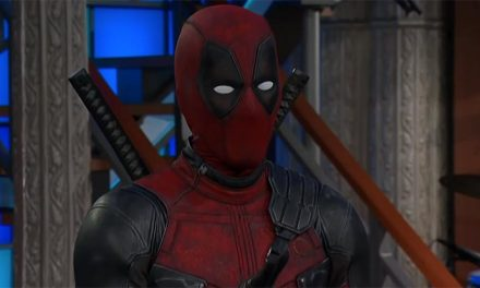 Deadpool hijacks Stephen Colbert's show