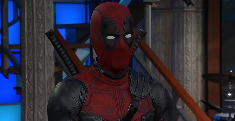 Deadpool hijacks Stephen Colbert's show