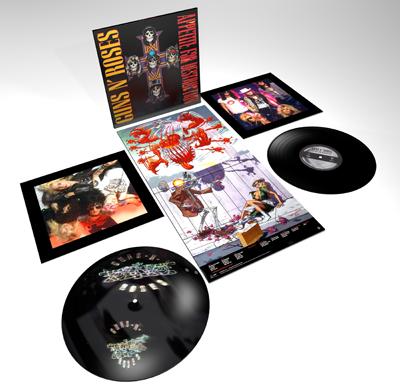 Guns R Roses Appetite LP