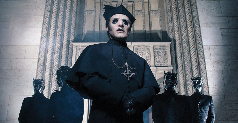 An interview with Tobias Forge of Ghost