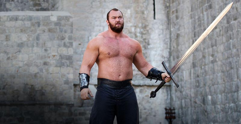 Game of Thrones' The Mountain now world's strongest man