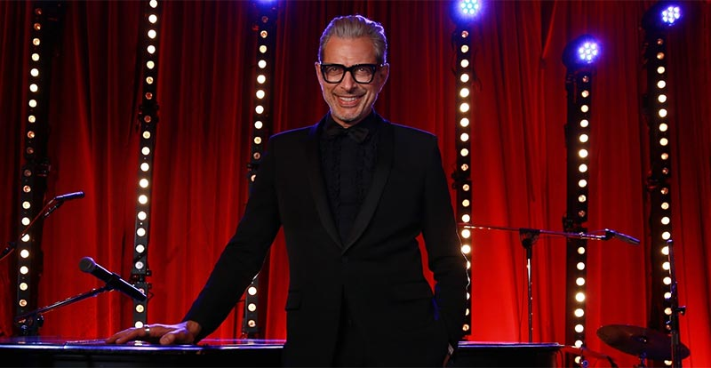 Jeff Goldblum is releasing an album