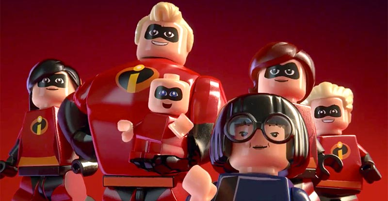 Pixar faves join LEGO The Incredibles game