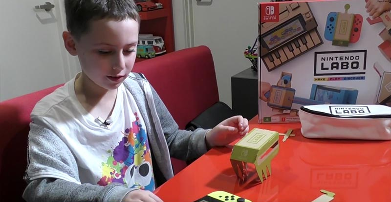 Keep the kids busy with Nintendo Labo