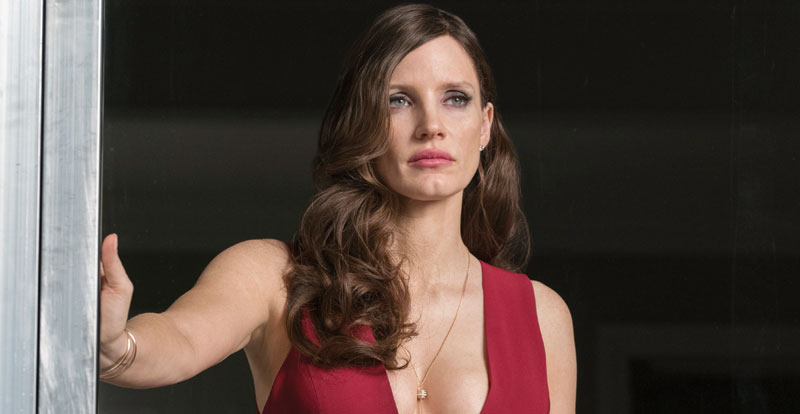Interview with Jessica Chastain – Molly's Game