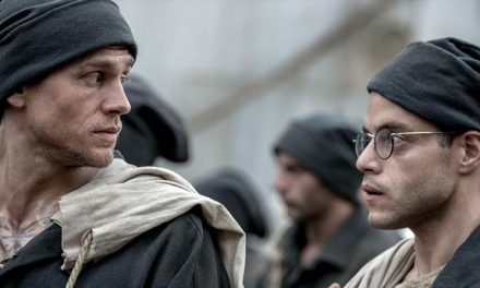 Charlie Hunnam gets cracking in Papillon remake