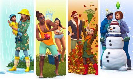 The Sims 4 forecast is for rain, sun, snow, wind…