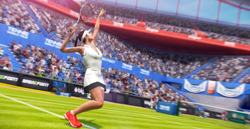You cannot be serious! Tennis World Tour dated