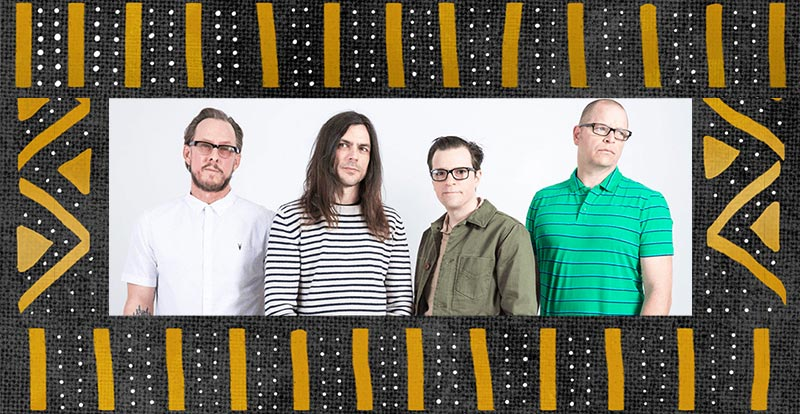 Weezer bless the rains down in Africa
