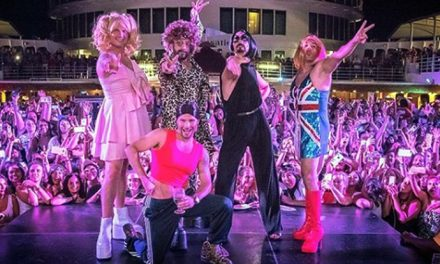 Watch Backstreet Boys perform in drag as the Spice Girls
