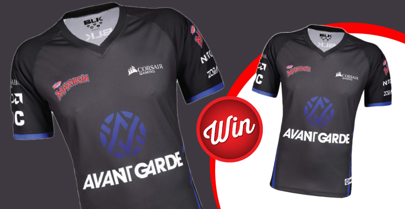 Score one of two signed Avant Gaming Jerseys