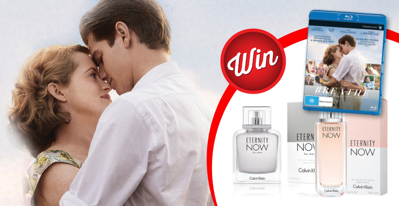 Win Breathe on Blu-ray, plus a his and hers perfume pack