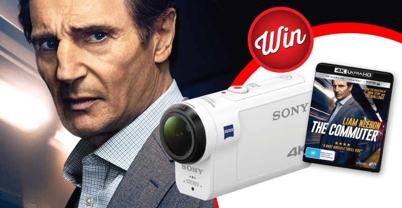 Score a Sony Action Camera with 'The Commuter'