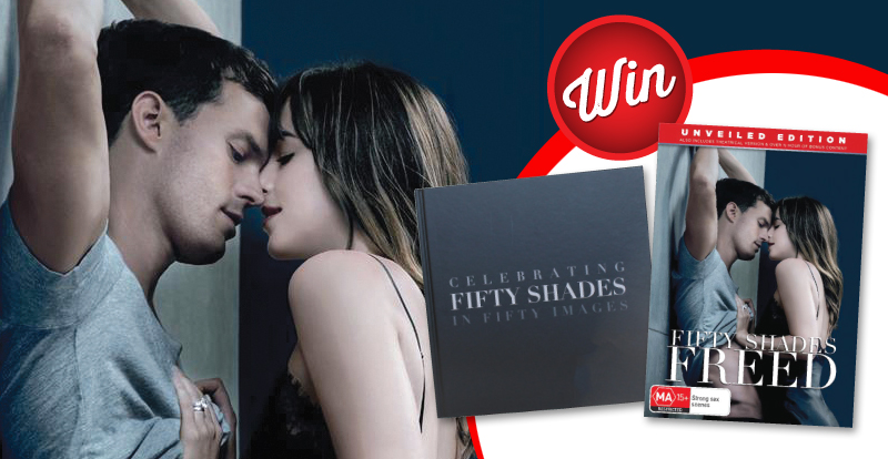 Win a Fifty Shades Freed coffee table book