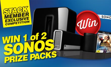 STACK member competition: win one of two Sonos prize-packs!