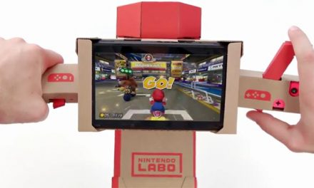 Mario Kart and Nintendo Labo collide!