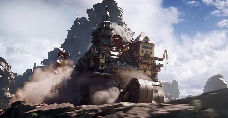 New look at Mortal Engines rolls into town