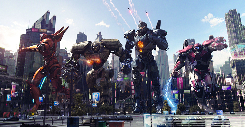 Pacific Rim: Uprising on DVD, Blu-ray, Blu-ray 3D and 4K July 4