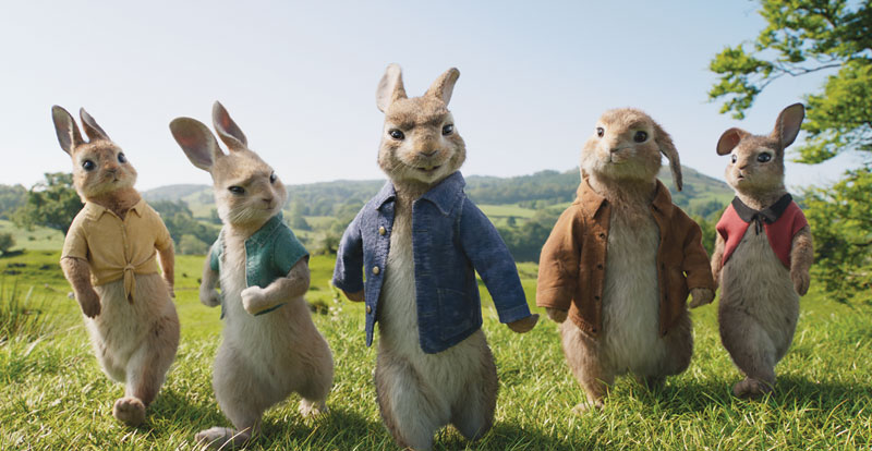 Peter Rabbit – A visit to Animal Logic
