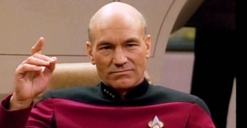 Patrick Stewart to boldly go again?