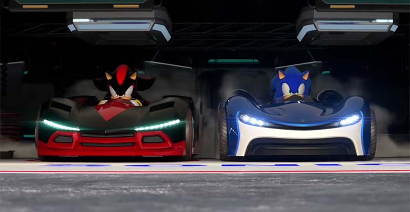 Sonic is back in the race with Team Sonic Racing