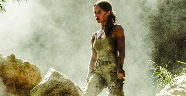 Tomb Raider on DVD Blu-ray and 4K June 20