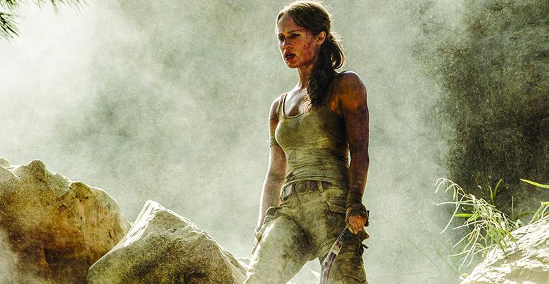 Tomb Raider on DVD Blu-ray and 4K June 20