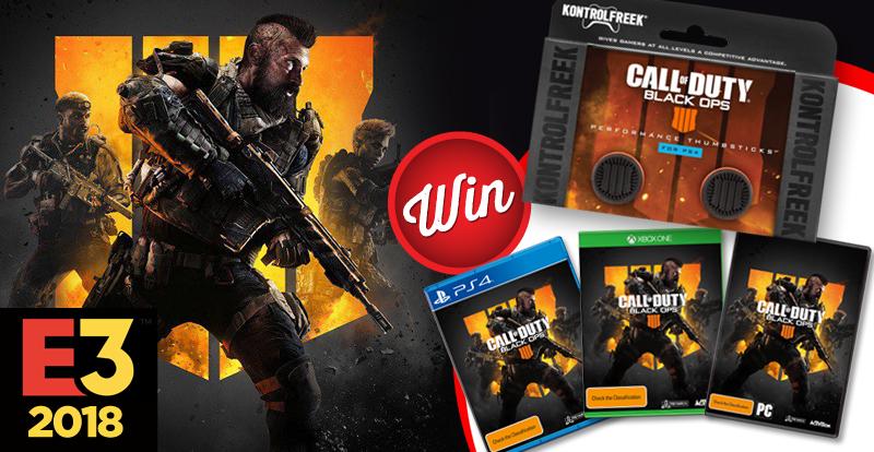 Win a copy of Call of Duty: Black Ops 4 plus KontrolFreek Thumbsticks