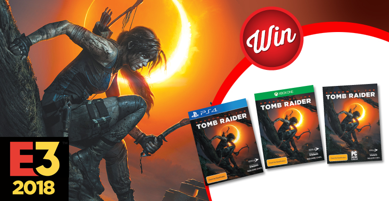 Score a copy of Shadow of the Tomb Raider
