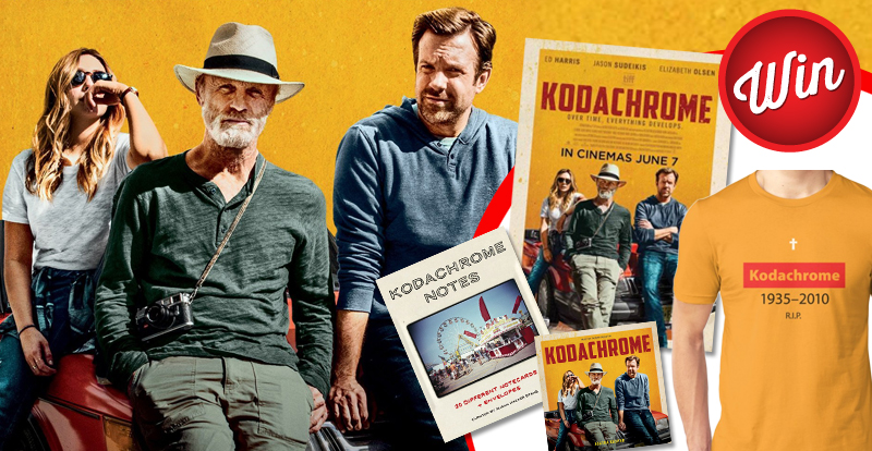 Score one of two Kodachrome merch packs and movie passes