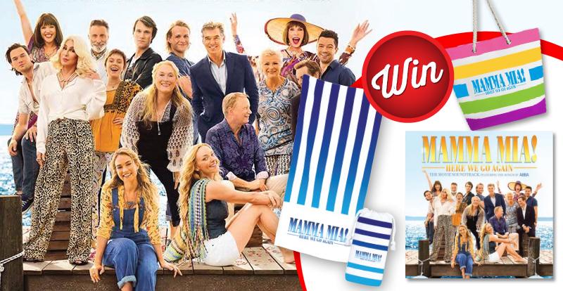 WIN Mamma Mia! Here We Go Again movie ticket bundle