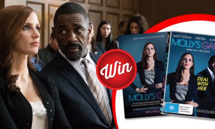 Win one of five Molly's Game book and DVD bundles