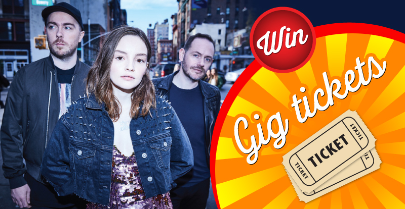 Win tickets to see CHVRCHES