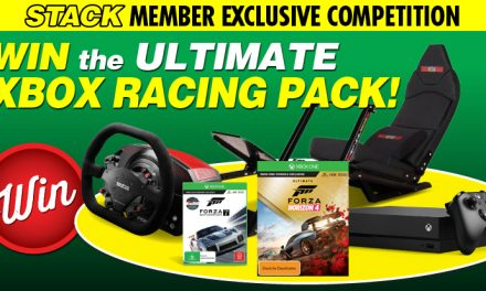 STACK member competition: Win an ultimate Xbox racing pack