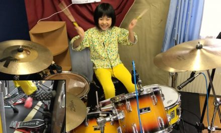 Watch this eight-year-old girl slay Led Zep