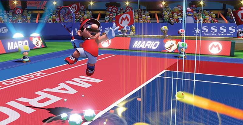 A Brief History of the Mario Tennis Games
