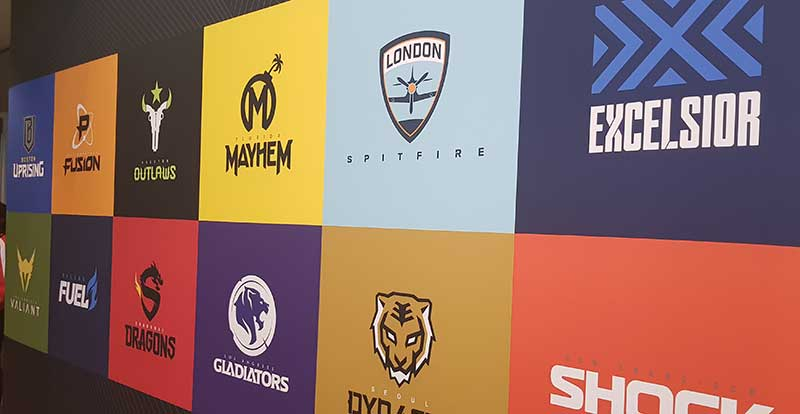 We went to the Overwatch League at Blizzard Arena