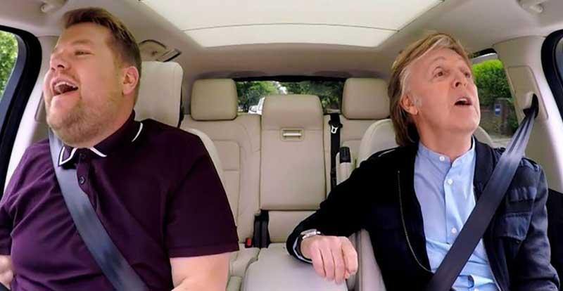 Paul McCartney stars in the best Carpool Karaoke you'll ever watch