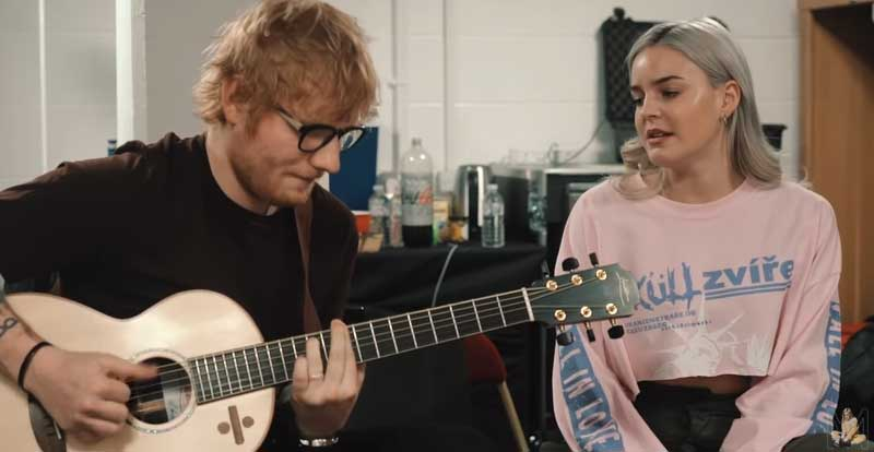 Anne-Marie and Ed Sheeran team up for '2002' acoustic