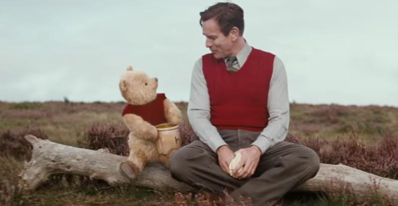 Pooh yeah! More sweet Christopher Robin footage