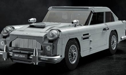Boxy but nice? 007's LEGO Aston Martin revealed
