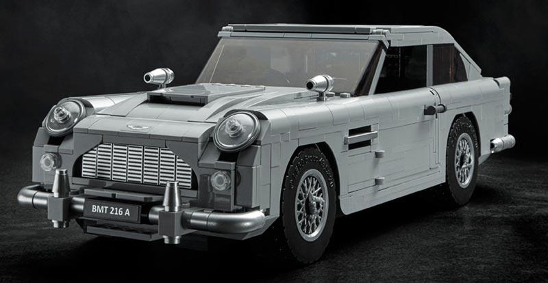 Boxy but nice? 007's LEGO Aston Martin revealed