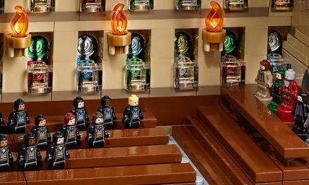 LEGO Hogwarts is the second biggest set ever
