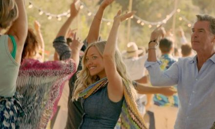 Mamma Mia! It's a 'Dancing Queen' lyric video!