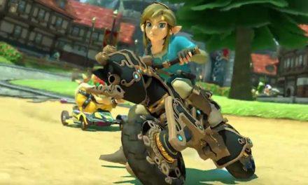 Hey! There's new Zelda stuff in Mario Kart!