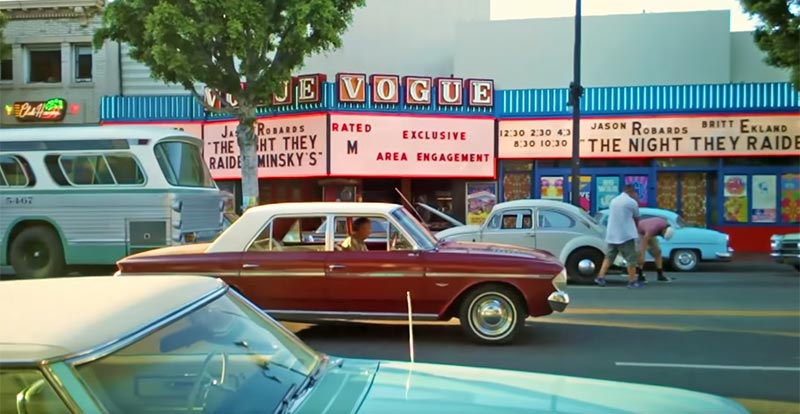 Groovy Once Upon a Time in Hollywood location video