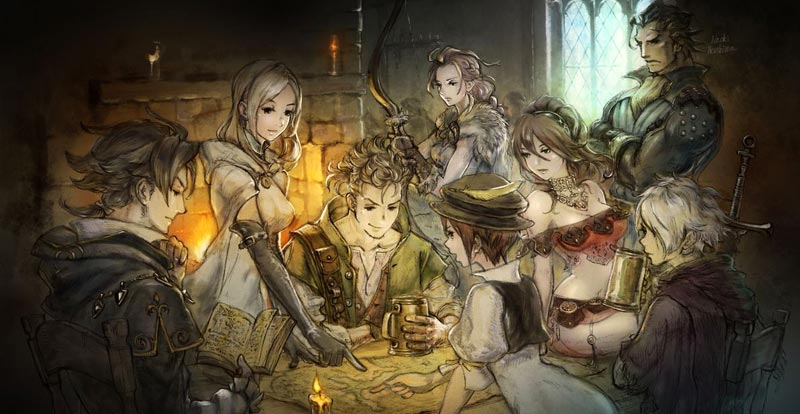 Let's sing a song about eight with Octopath Traveler