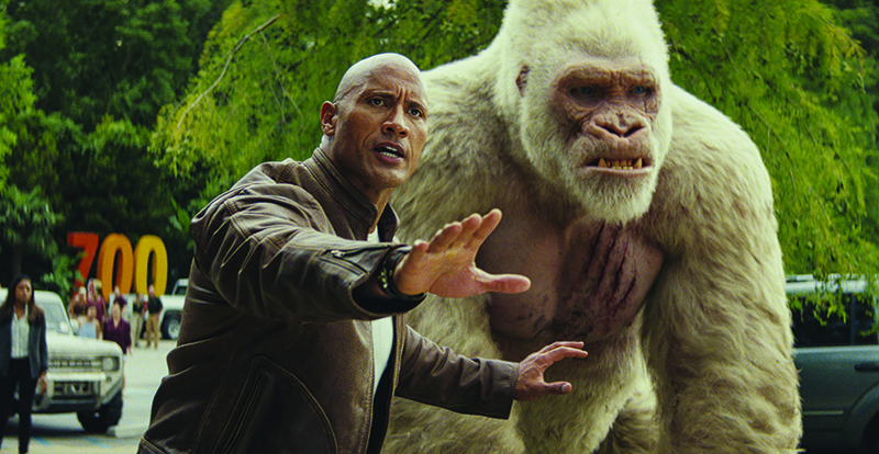 Rampage on DVD, Blu-ray, 3D and 4K July 18